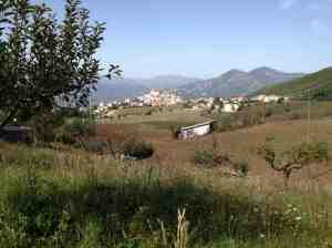 Panorama di Salcito