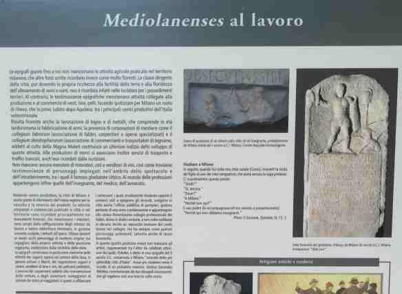 Il lavoro degli antichi milanesi